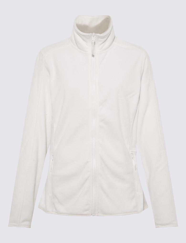 Kadın Beyaz Thermowarmth™ Polar Ceket