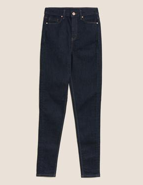 Kadın Lacivert Super Soft Skinny Jean Pantolon