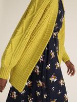 Kadın Sarı Örme Hırka