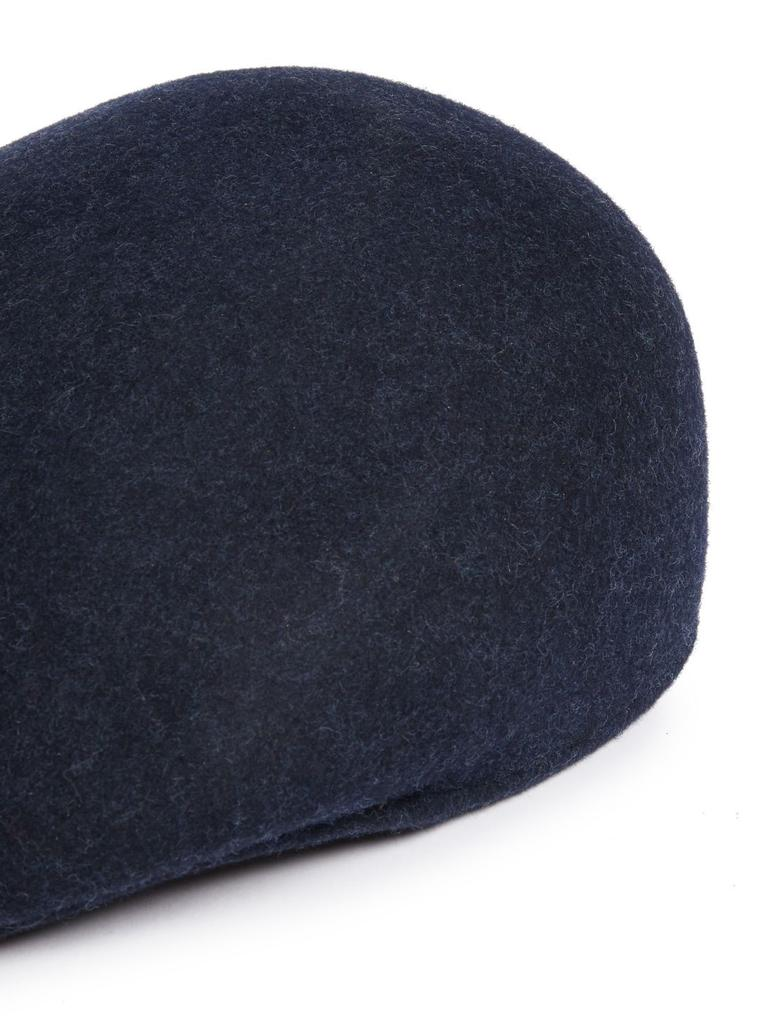 Erkek Lacivert Yün  Şapka