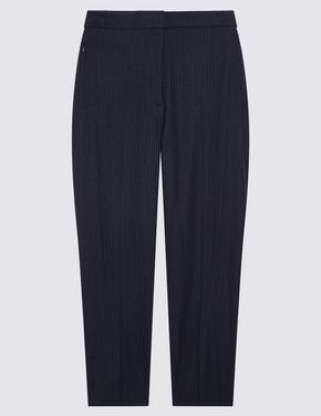 Kadın Lacivert Evie Straight Pantolon