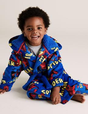 Çocuk Mavi Spider-Man™ Polar Sabahlık