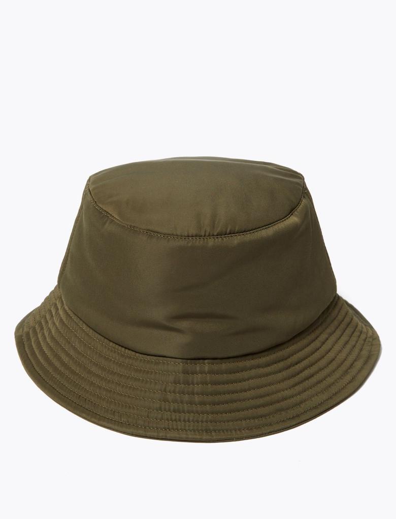 Kadın Yeşil Bucket Şapka