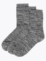 Kadın Gri 3'lü Sumptuously Soft™ Termal Çorap Seti