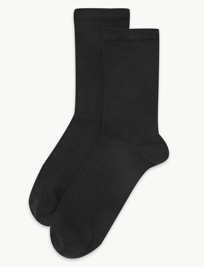 Kadın Siyah 2'l Heatgen™ Termal Çorap Seti