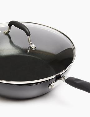 Ev Siyah 30 cm Yapışmaz Tava