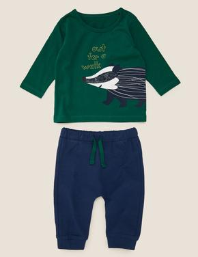 Bebek Yeşil 2'li Üst ve Alt Takımı