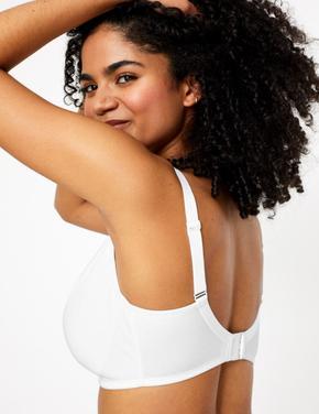 Kadın Beyaz 2'li Balensiz Full Cup Sütyen Seti