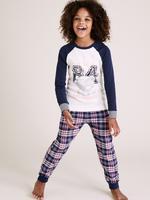 Çocuk Lacivert Saf Pamuklu Tatty Teddy™ Pijama Takımı