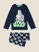 Çocuk Lacivert Star Wars™ Pijama Takımı