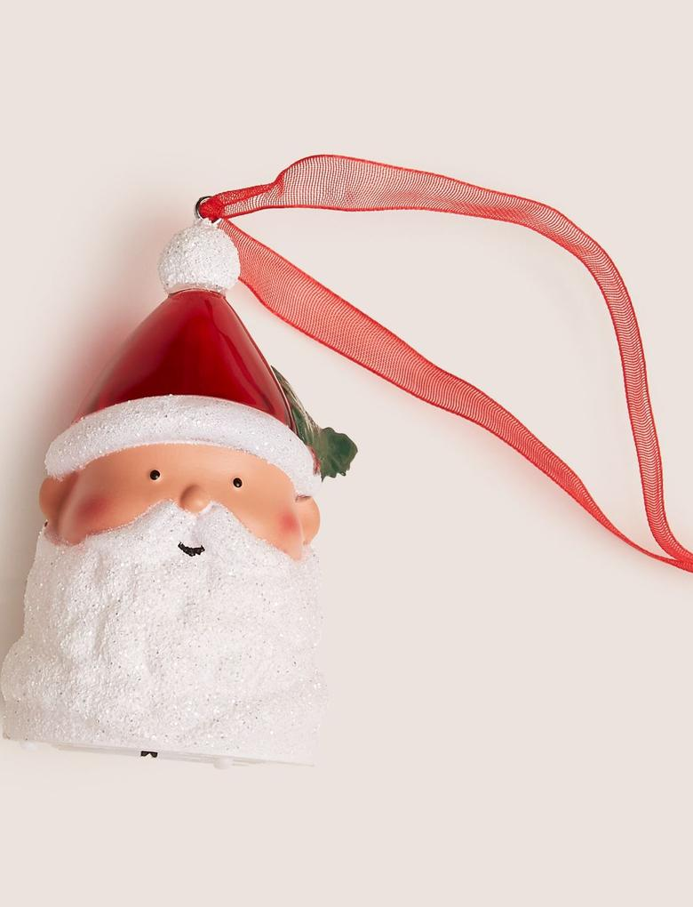 Kırmızı Noel Baba Çam Ağacı Süsü