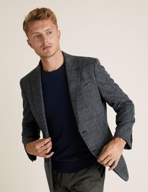 Mavi Regular Fit Ekose Blazer Ceket