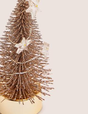 Sarı Minik Çam Ağacı Dekoratif Süs