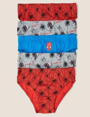 Çocuk Kırmızı 5'li Spider-Man™ Külot Seti