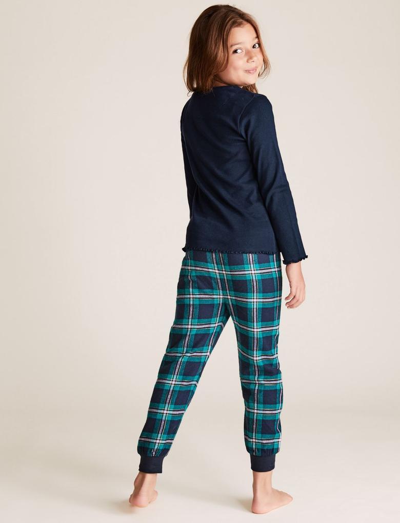 Çocuk Lacivert Harry Potter™ Hogwarts Pijama Takımı