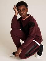Erkek Çocuk Kırmızı Şerit Detaylı Eşofman Altı