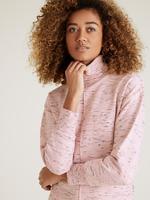 Kadın Pembe Balıkçı Yaka Sweatshirt