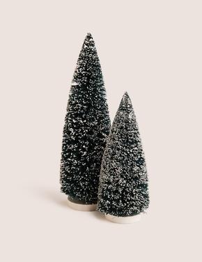 Yeşil Çam Ağacı Dekoratif Süs