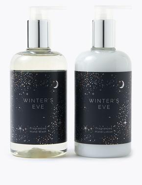 Kozmetik Renksiz Winter Eve Vücut Losyonu ve Duş Jeli Seti