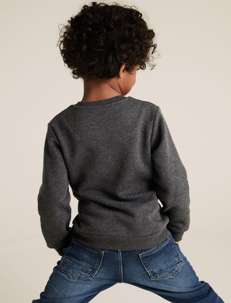 Erkek Çocuk Gri Marvel Spider-Man™ Sweatshirt