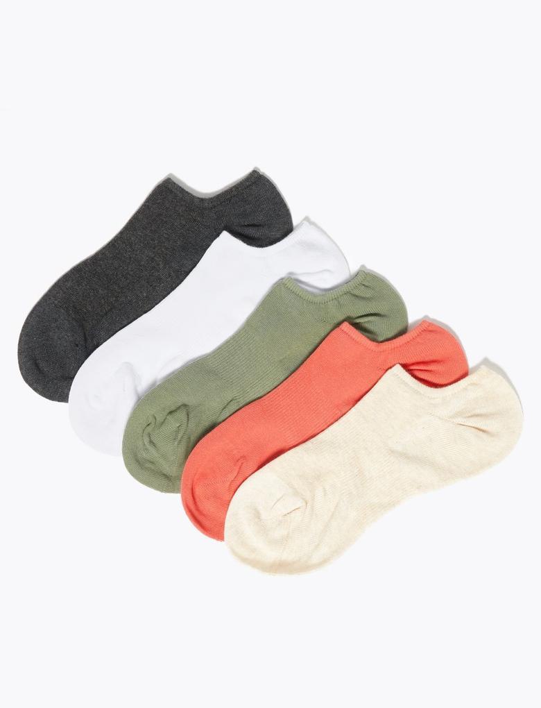 Kadın Bej 5'li Çorap Seti