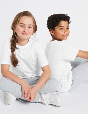 Beyaz 2'li Unisex T-Shirt Seti