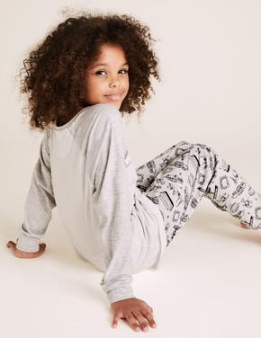 Çocuk Multi Renk Friends Pijama Takımı