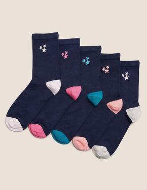 Kadın Lacivert 5'li Sumptuously Soft™ Çorap Seti