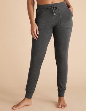 Kadın Gri Flexifit™ Jogger Pijama Altı