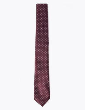 Kırmızı Puantiyeli Kravat