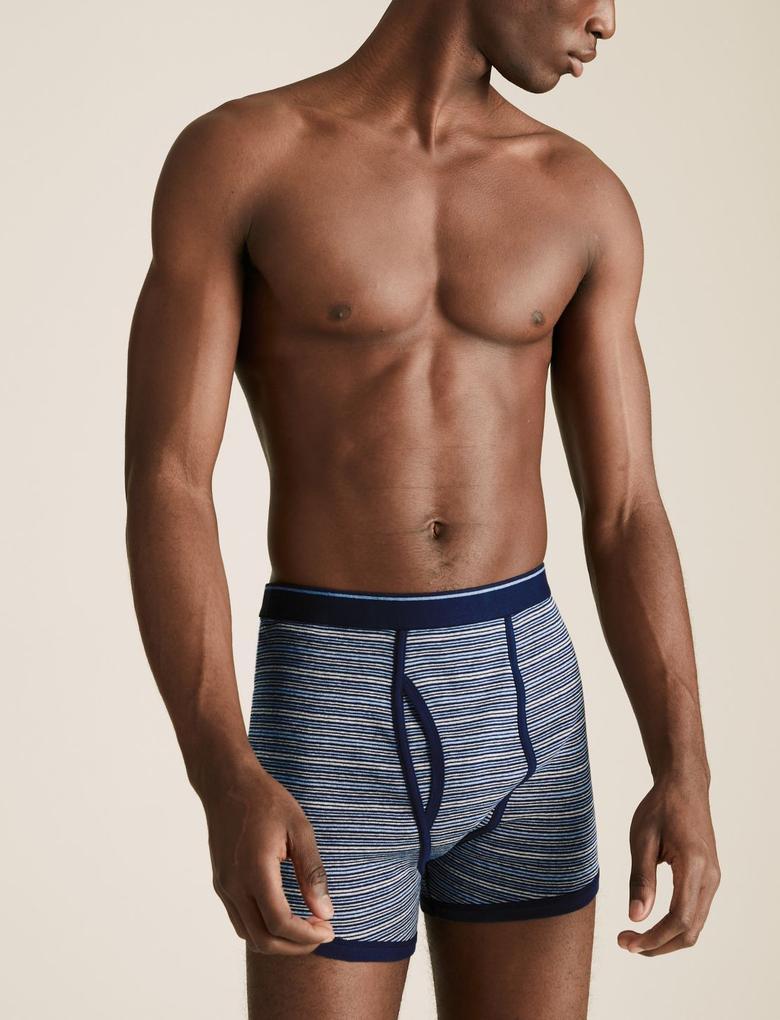 Erkek Mavi 5'li Cool & Fresh™ Trunk Seti