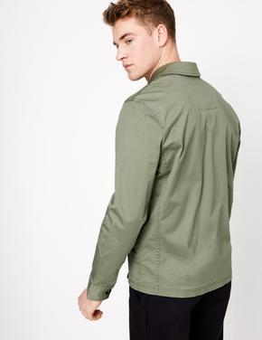 Erkek Yeşil Regular Fit Ceket