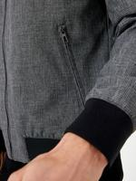 Erkek Gri Stormwear™  Dokulu Bomber Ceket