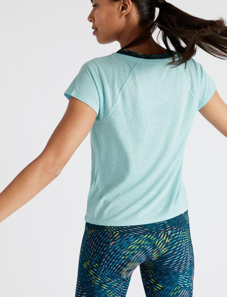 Kadın Mavi 2'li T-Shirt Seti