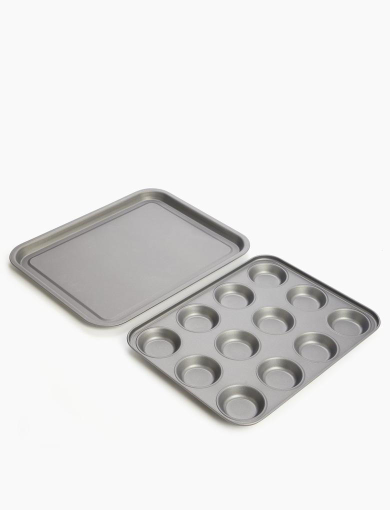 Ev Gümüş 5'li Pişirme Seti