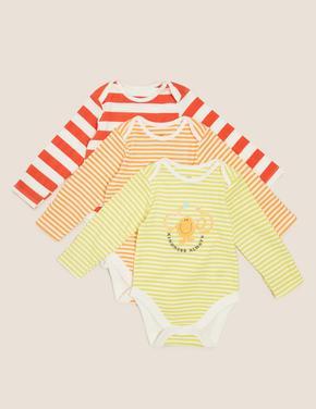 Bebek Multi Renk 3'lü Mr Men™ Baskılı Body Seti