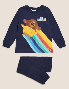 Çocuk Multi Renk Hey Duggee Pijama Takımı