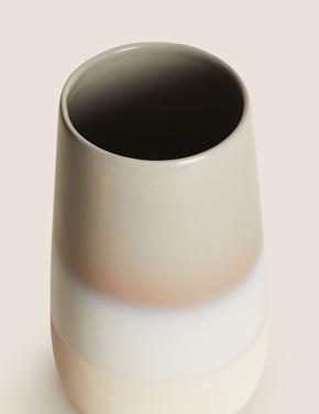 Ev Gri Uzun Dekoratif Vazo