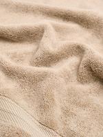Ev Kahverengi Organik Pamuklu Havlu