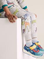 Erkek Çocuk Gri Organik Pamuklu Jogger Eşofman Altı
