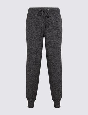 Kadın Siyah Jogger Pijama Altı