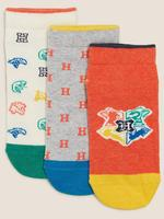 Çocuk Multi Renk 3'lü Harry Potter™ Çorap Seti