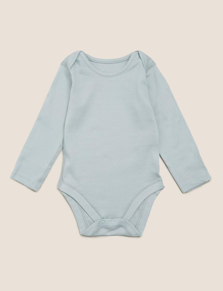 Bebek Pembe 5'li Organik Pamuklu Body Seti