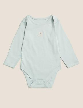 Bebek Mavi 2'li Desenli Body ve Alt Takımı
