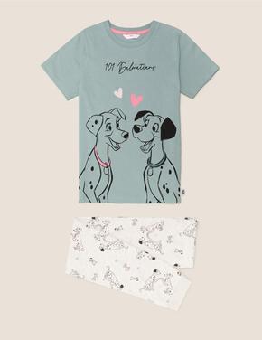Çocuk Yeşil 101 Dalmatians™ Pijama Takımı