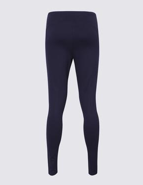 Kadın Lacivert Yüksek Belli Legging Pantolon