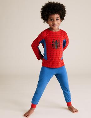 Çocuk Kırmızı Spiderman Pijama Takımı