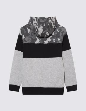 Erkek Çocuk Gri Playstation™ Grafik Sweatshirt