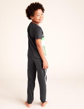Çocuk Multi Renk Minecraft™ Kısa Kollu Pijama Takımı