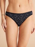 Lacivert 5'li Desenli Bikini Külot Seti
